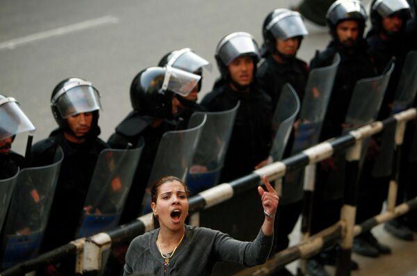 Антиправительственные протесты, проходящие в египетских городах