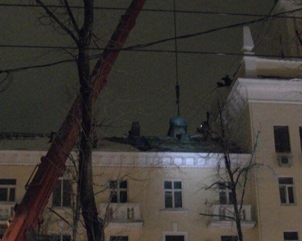 Жилой дом частично обрушился в Ярославле. Видео с места ЧП