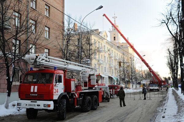 Частичное обрушение жилого дома в Ярославле