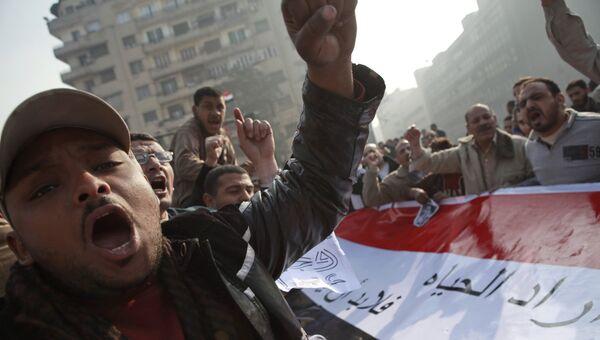 Антиправительственные выступления в Каире с требованием отставки Мубарака в 2011 году. Архивное фото