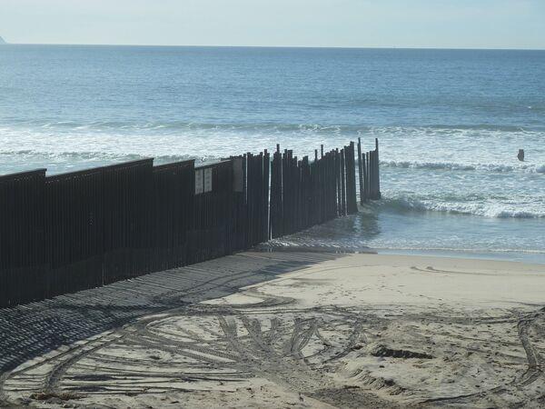 Морская граница США и Мексики
