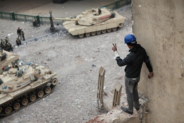 Ситуация на площади Тахрир в Каире