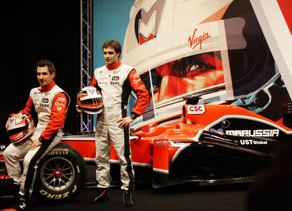 Новый болид Marussia Virgin Racing