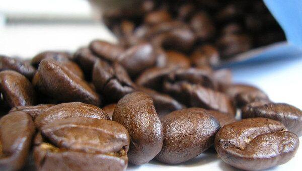 Зерна кофе, архивное фото