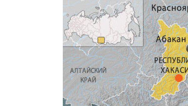 Землетрясение магнитудой 5,5 произошло в Хакасии
