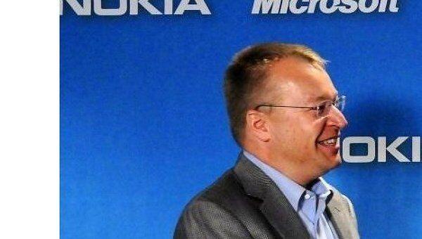 Генеральный директор Nokia Стивен Илоп (Stephen Elop). Архив