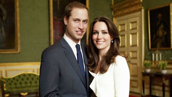 Помолвка британского принца Уильяма и Кейт Миддлтон