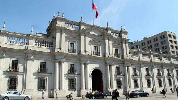 Президентский дворец в Сантьяго-де-Чили