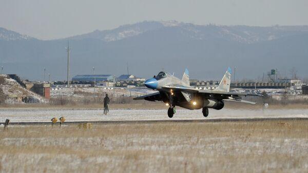 412-я авиационная база несет боевое дежурство в Читинской области