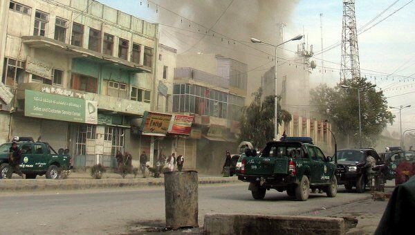 Атака боевиков в Афганистане