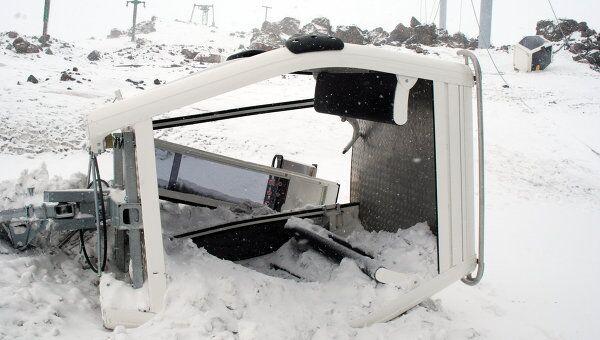 Последствия подрыва на канатной дороге Старый Кругозор - Мир