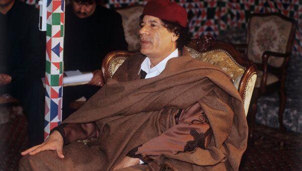 Муамар Каддафи. Архив