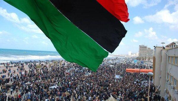 Акция протеста в Бенгази