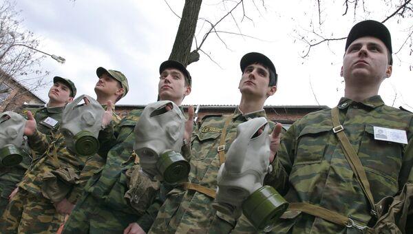 Военный факультет Донского государственного технического университета. Архивное фото