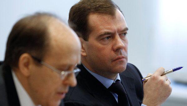 Дмитрий Медведев провел заседание Национального антитеррористического комитета (НАК).