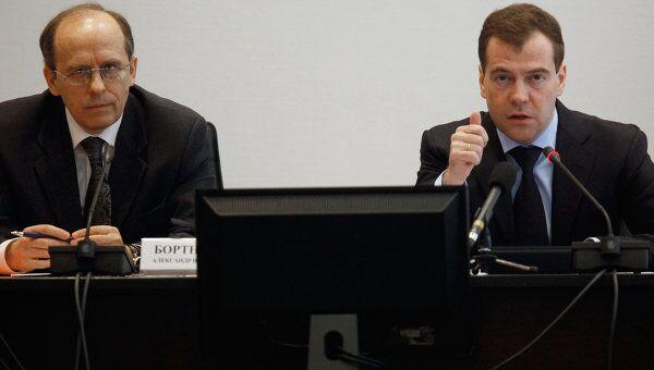 Дмитрий Медведев провел заседание Национального антитеррористического комитета (НАК)