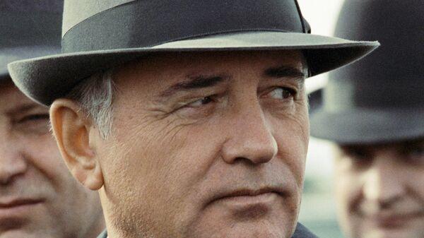 Генеральный секретарь ЦК КПСС Горбачев