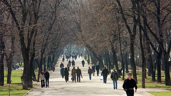 Тверской бульвар в Москве. Архив