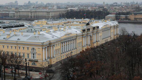 Здание Сената и Синода в Санкт-Петербурге. Архив