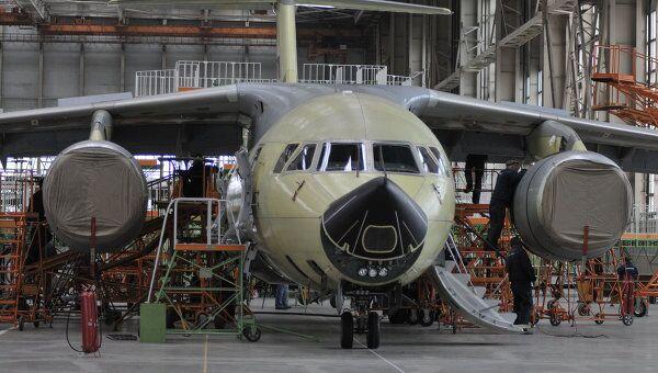 Сборка Ан-148 на Воронежском Авиазаводе (ВАСО)
