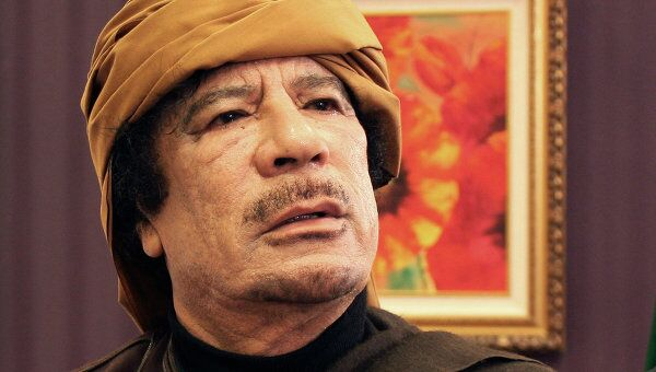 Муаммар Каддафи. Архив