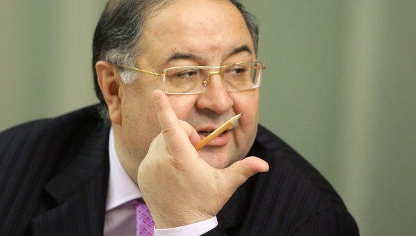 Бизнесмен Алишер Усманов