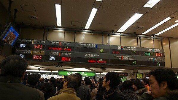 Последствия землетрясения в Токио