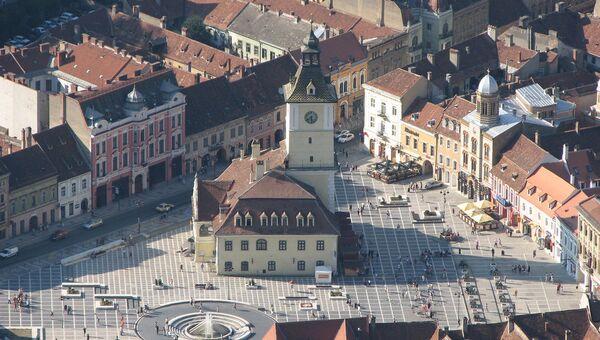 Исторический музей в центре Брашова. Румыния