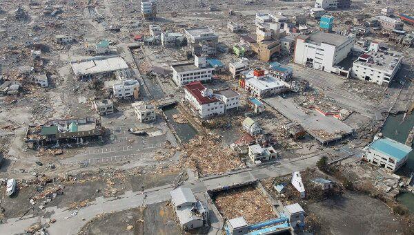 Последствия землетрясение в Японии