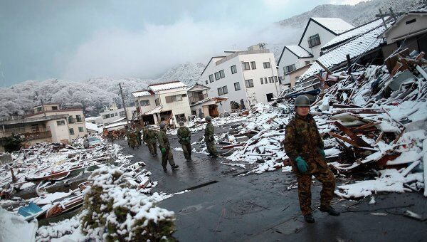 Последствия землетрясения в Камаиси