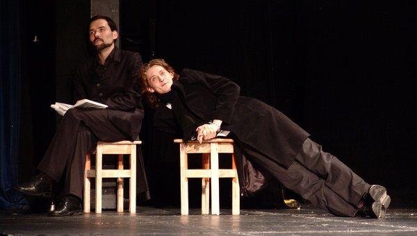 Сцена из спектакля Сцены из жизни Николая Ставрогина
