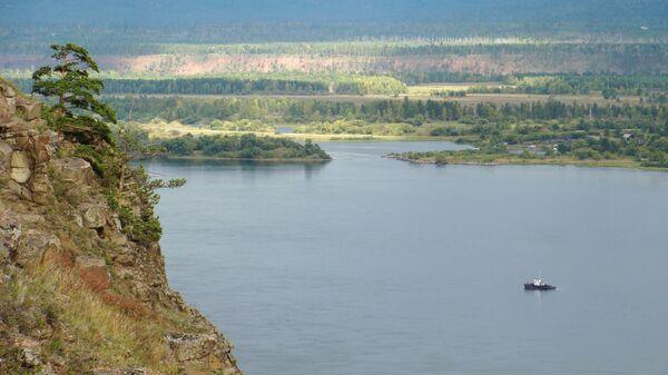 Река Ангара, архивное фото