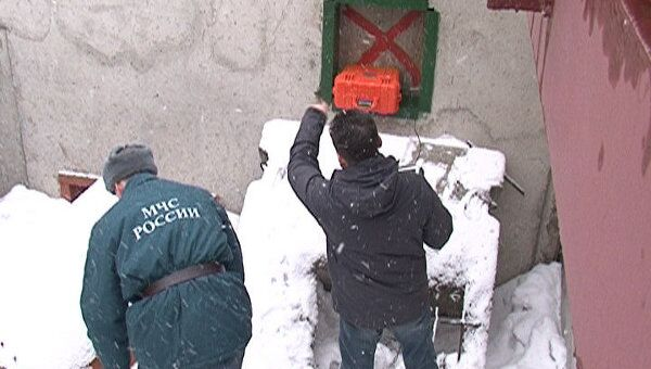 Российский радар находит человека под завалами по еле заметному дыханию