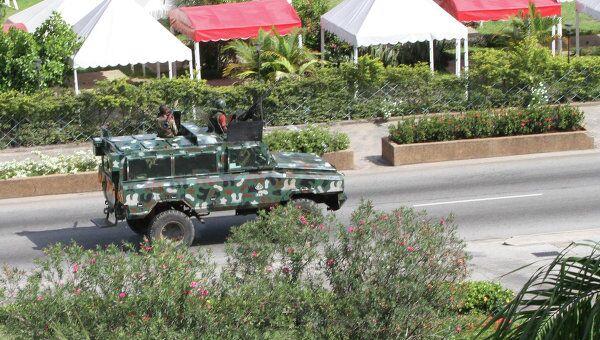 Военные, поддерживающие режим экс-президента Лорана Гбагбо в Кот-д'Ивуаре