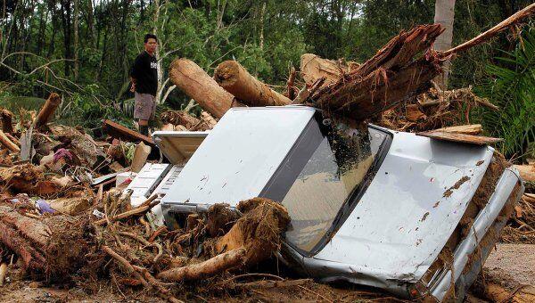 Наводнения и сели в Таиланде