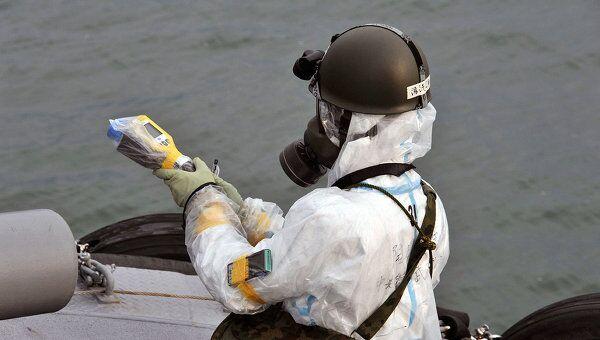 Работы по лиувидации последствий землетрясения на АЭС Фукусима