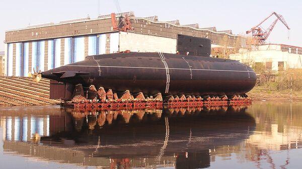 Строительство подлодки на заводе «Красное Сормово»
