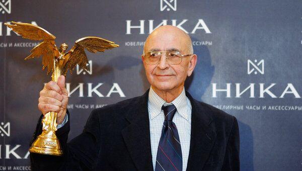 Режиссер Тофик Шахвердиев на церемонии вручения премии Ника