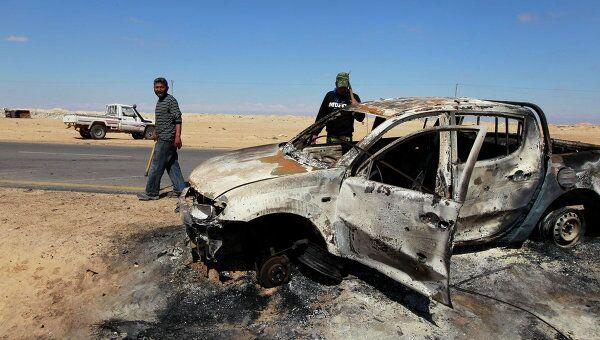 Последствия авиаударов сил НАТО по Ливии