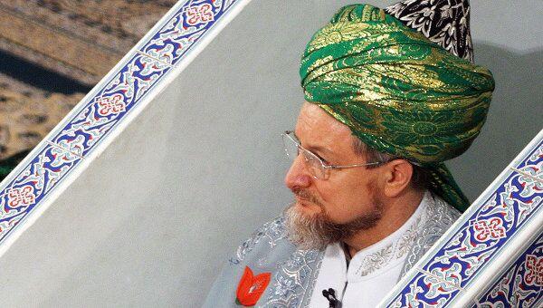 Верховный муфтий России Талгат Таджуддин, архивное фото