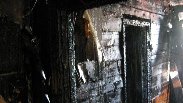Пожар в здании Ирбейского районного суда