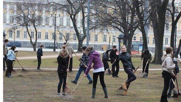 Субботники в Санкт-Петербурге