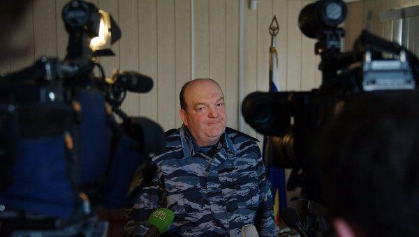 Глава ФСИН Александр Реймер отвечает на вопросы журналистов в Чите