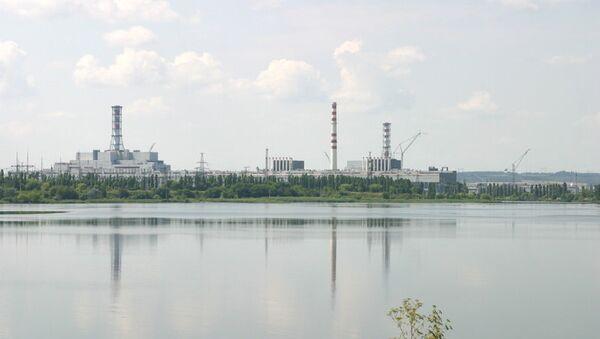 Общий план Курской атомной станции
