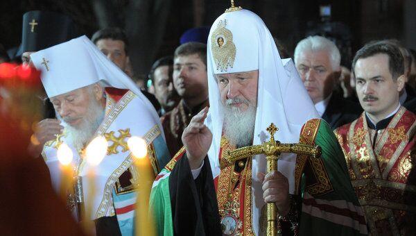 Панихида по погибшим в чернобыльской катастрофе прошла в Свято-Михайловском храмовом комплексе Киева