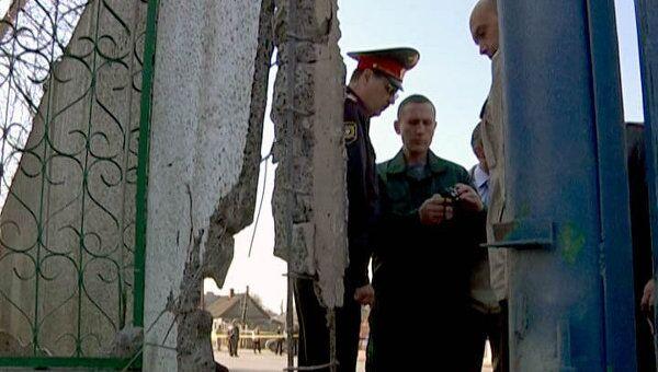 Взрыв у здания ГИБДД в Волгограде. Видео с места событий