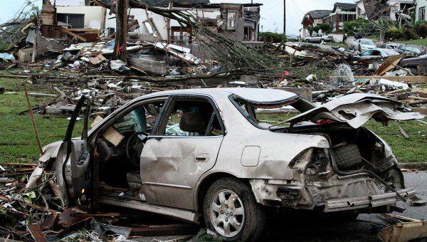 Последствия штормового циклона в США, штат Алабама