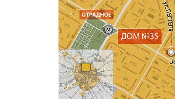 Улица Декабристов в Москве, где был избит журналист Коммерсант ФМ
