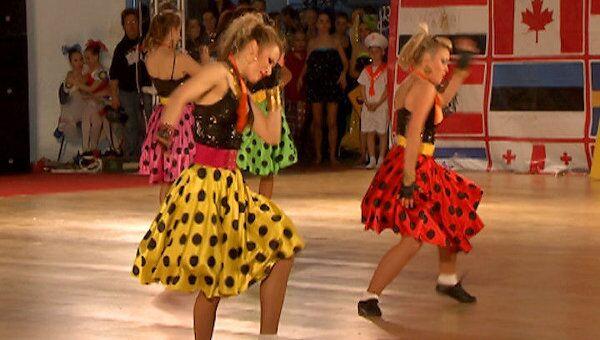 Россиянка очаровала жюри и стала открытием танцевальной Олимпиады в Москве
