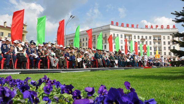 Народные гулянья на День Победы в Минске